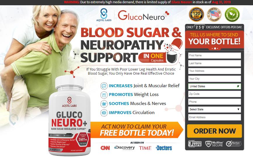 gluco neuro blood sugar regulator customer review