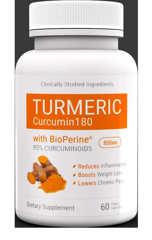 Curcumin 180 ingredients list
