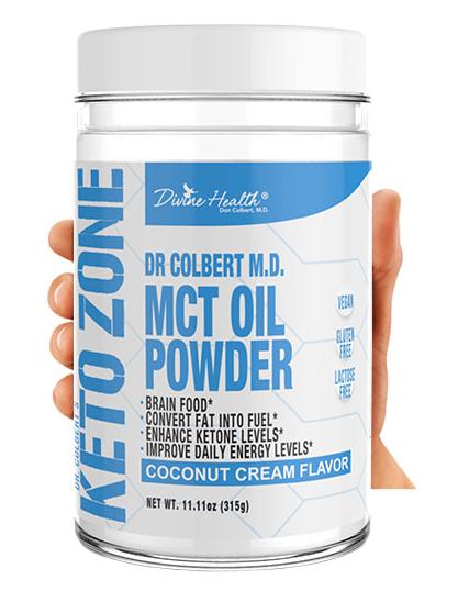 MCT Oil Powder Boost Ingredients