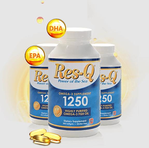 Res-Q 1250 Omega-3 Fish Oil Customer Reviews